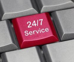 computer key - 24/4 service