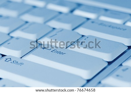 computer keyboard close-up
