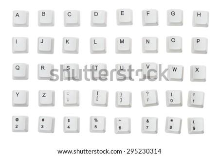 Computer Keyboard, Computer Key, Alphabet. #295230314