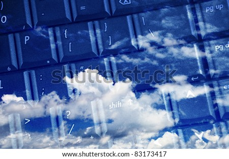 computer keyboard for cloud computing