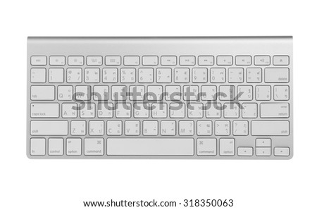 computer keyboard US Thai #318350063