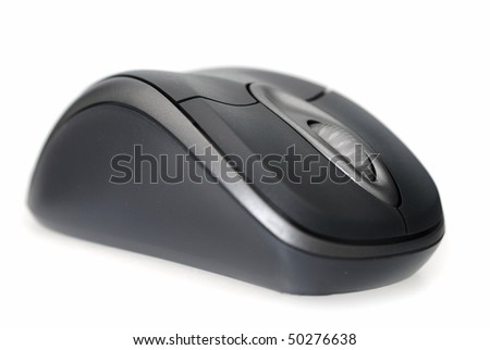 computer mouse; focus on scroll; shallow depth of field;