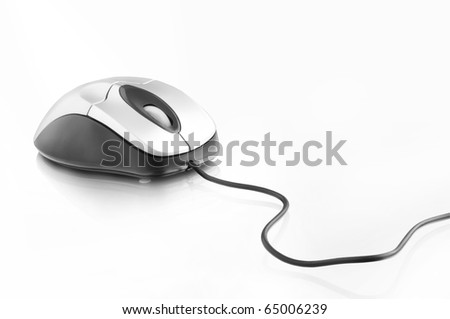 computer mouse isolated on white #65006239