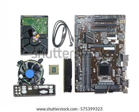 computer pc component cpu...
