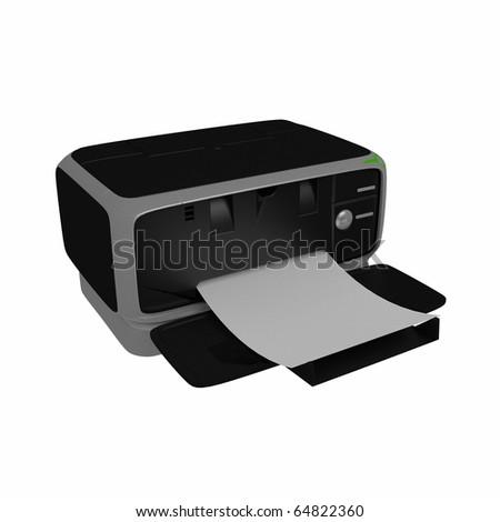computer printer .3d model