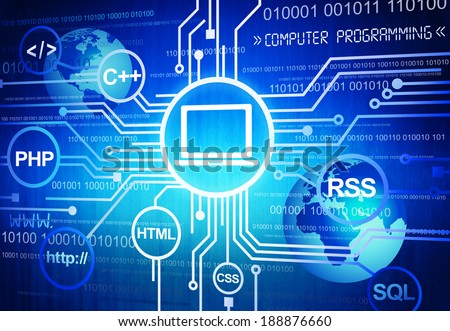 Computer Programming Stock Photo 188876660 Shutterstock
