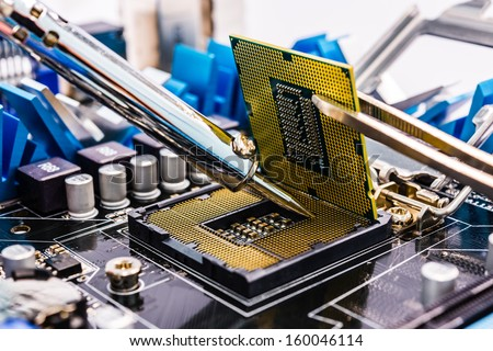 """Computer repair"". Should be ""Shorting motherboards 101"""