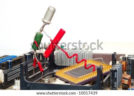computer repair or processor upgrade