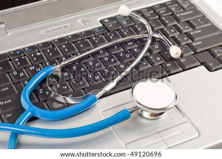 Computer technical service - stock photo