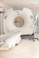 computer tomography diagnostics in medical center