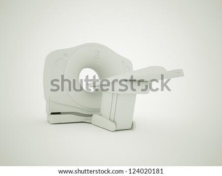 Computer tomography  medical scanner