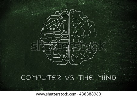 an introduction and a comparison of the human brain and the computer Human vs computer differentiating a human and a computer is easy there is really no confusion between the two unless the time comes when cyborgs, or half human half machines will roam the earth.