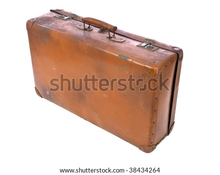 Concentration camp luggage standing