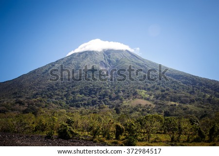 Shutterstock Concepcion Volcano View from Ometepe Island, Nicaragua
