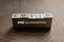 concept Covid-19 phase 2, phase 3, end quarantine. Life after coronavirus emergency.