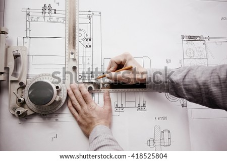 concept designer drawing engineer