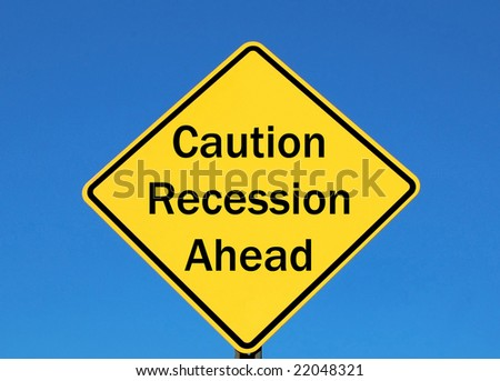 Concept for recession in the economy