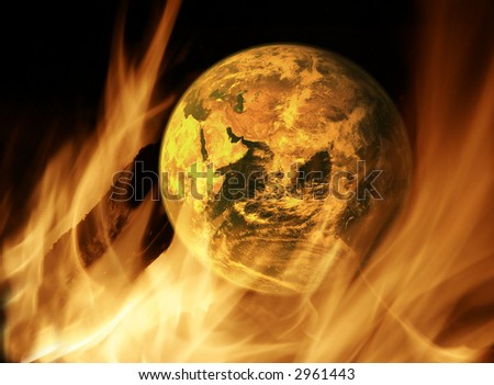Concept: Global Warming - stock photo