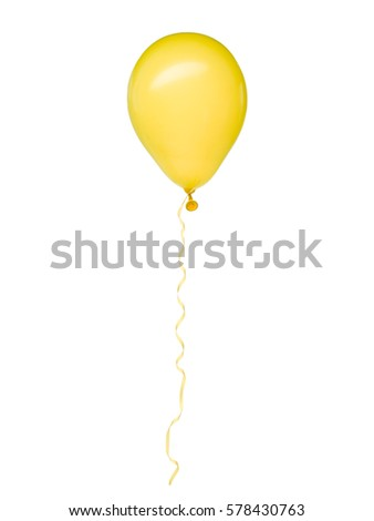 concept image of a violet balloon rising from his colorful group seen thru a tunnel of balloons. white background
