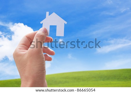 concept image of my new house