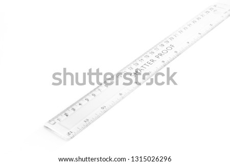 Concept measure tool, ruler measurement isolated on white background #1315026296