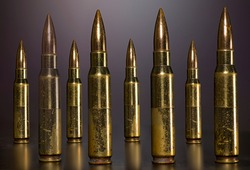 concept military bullet ammo metal