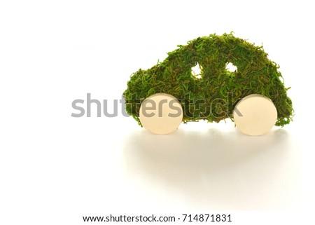 concept of a ecology car #714871831