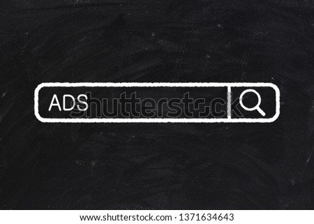 Concept Of ADS For The Business Use. #1371634643