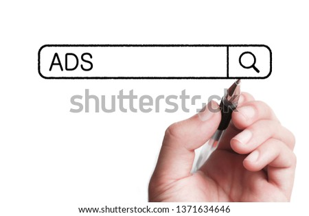 Concept Of ADS For The Business Use. #1371634646