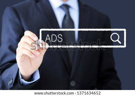 Concept Of ADS For The Business Use. #1371634652