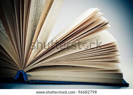 concept of an open book