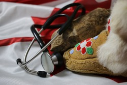 Concept of Canadian Indigenous Healthcare.