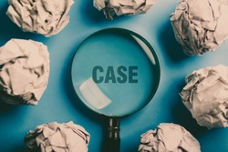Concept Of Case Study For The Business Use.