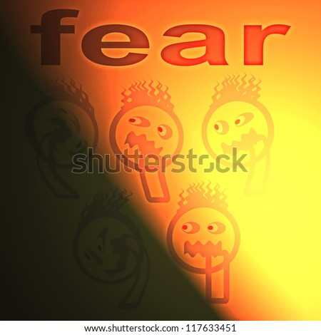 concept of fear ( anxiety disorder )