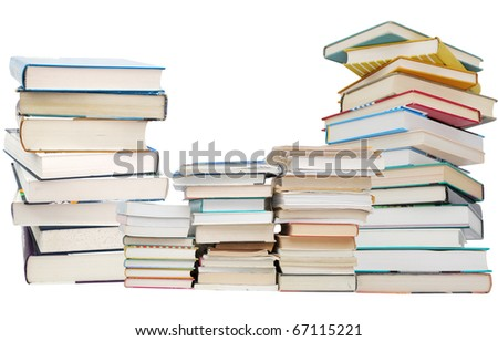 Concept of four years college on studying