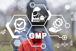 Concept of GMP Good Manufacturing Practice.