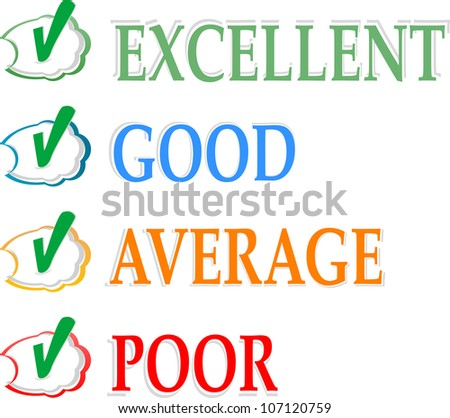 Concept of good credit score for business. Raster