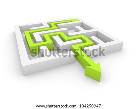 Concept of labyrinth