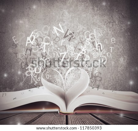 Concept of love for book