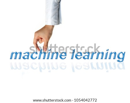 Concept of machine learning to improve artificial intelligence and its ability of thinking