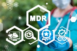 Concept of MDR Medical Device Regulation.