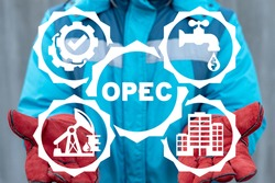Concept of OPEC. Organization of Petroleum Exporting Countries.