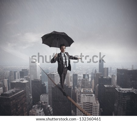 Concept of risks and challenges of business life
