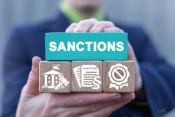 Concept of sanctions. International economic and political relations. Sanction.