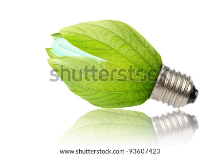 concept of saving energy