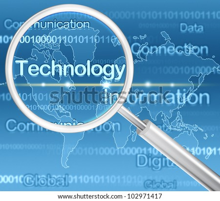concept of search of the technology wording
