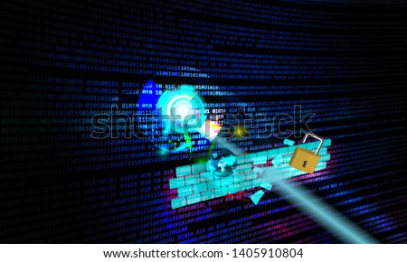 Concept of simulating cyber attack on software applications known as penetration testing, this illustrates how some of the cyber attacks can break the security systems through weak security standards