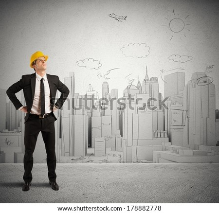 Concept of successful project of an architect
