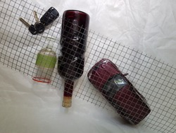 Concept photo for drinking and driving
