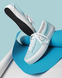 concept photo of still life, sneakers for men and women